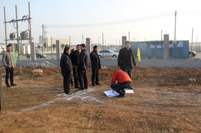 湖北聚瑞生物科技有限公司建设工业厂房开工仪式